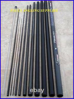 11 Metre Carp Fishing Pole MK2 Carbo 10 ELASTIC FITTED Ready to Fish