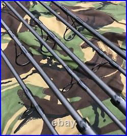 3 X 10ft 3.5lb Compact Carp Rods (Retractable Style) Brand New