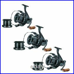 3 X Sonik Vader X 8000 RS Big Pit Carp Reels NEW Supplied With Spare Spools