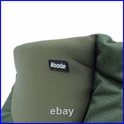 ABODE Air-Lite Alloy Padded Easy-Arm Carp Fishing Camping Recliner Chair