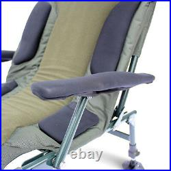 ABODE Carp Fishing Camping Folding Easy-Arm Lo-Armchair Sport Chair