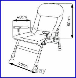 COMFY Carp Fishing Armchair Feeder Pack Table, Ultra Padded UK Stock Fast Disp