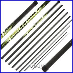 Carp Basher 11 m Take Apart Fishing Pole with spare top