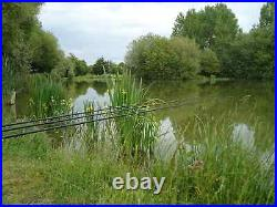 Carp fishing holiday with accommodation in France