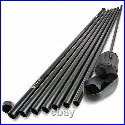 Cygnet 7 Section Baiting Pole 12m With Spoon & Float NEW Carp Fishing