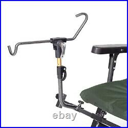 Folding Armchair Folding Arm // Solid Steel Fishing Accessories Chair F5R ST/P