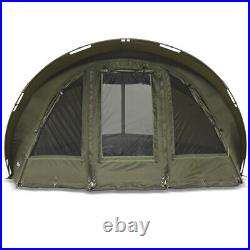 Lucx Fishing Tent + Cover Carp Tent 1, 2, 3 One Bivvy + Winterskin Leopard