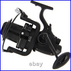 NGT Dynamic 9000 10 BB Big Pit Large Carp Runner Fishing Reel With Spare Spool