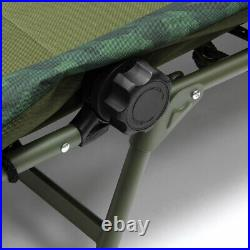 NGT XL 2 Man Fortress Pram Hood Bivvy Carp Fishing with 2 x Bedchair and Table