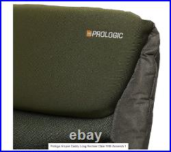 Prologic Inspire Daddy Long Recliner Chair With Armrests Model 64157 Carp